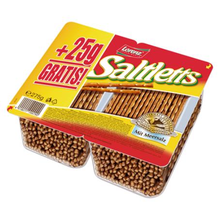 Lorenz Saltletts Salzstangen (250 g Packung)