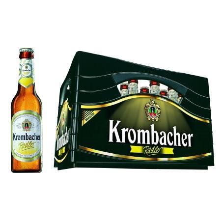Krombacher Radler (24/0,33 Ltr. Glas MEHRWEG)