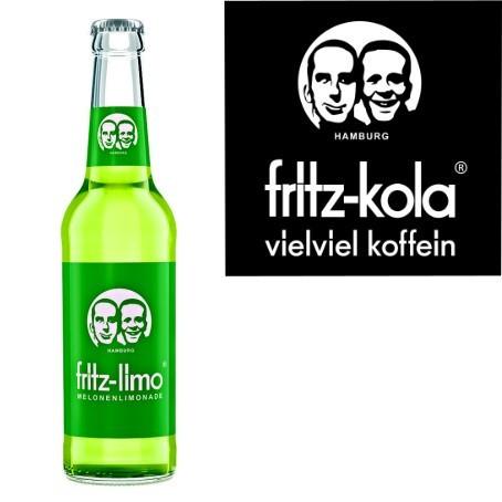 fritz -limo Melonenlimonade (24/0,33 Ltr. Glas MEHRWEG)