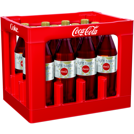 Coca Cola light coffeinfrei (12/1,0 Ltr. PET MEHRWEG)