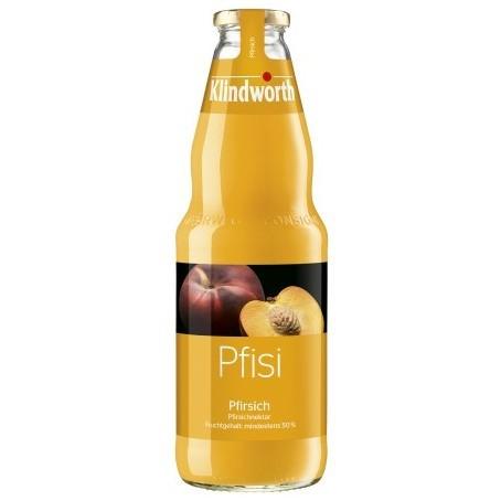 Klindworth Pfirsich (Einzelflasche 1,0 Ltr. MEHRWEG)