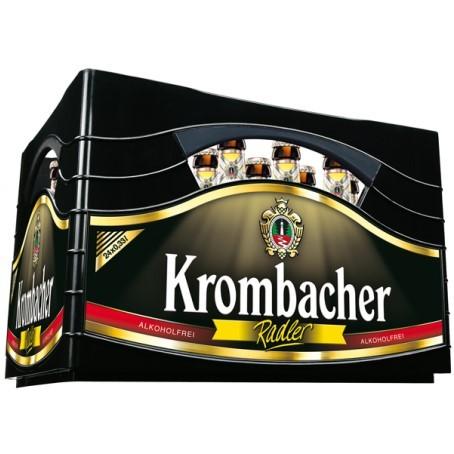 Krombacher Radler alkoholfrei (24/0,33 Ltr. Glas MEHRWEG)