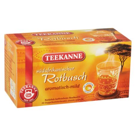 Teekanne Tee Südafrikanischer Rotbusch