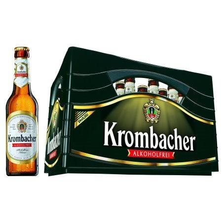 Krombacher Pils alkoholfrei (24/0,33 Ltr. Glas MEHRWEG)