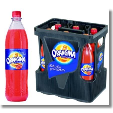 Orangina rouge PET (6/1 Ltr. PET MEHRWEG)