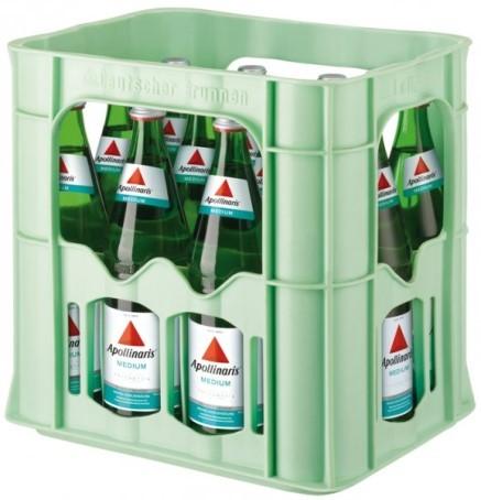 Apollinaris medium (12/0,75 Ltr. Glas)