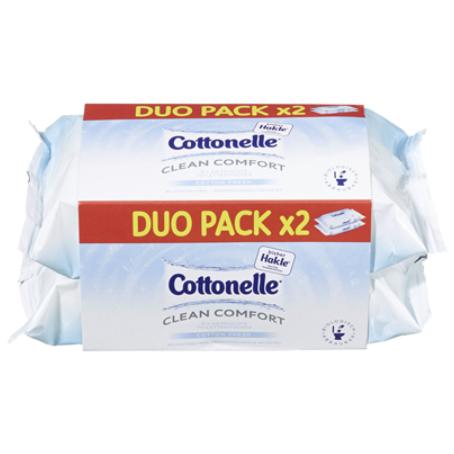 Cottonelle Feuchtes Toilettenpapier (2 x 42 Stück)