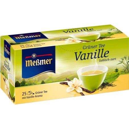 Messmer grüner Tee mit Vanille