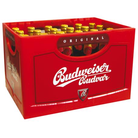 Budweiser Budvar (24/0,33 Ltr. Glas MEHRWEG)