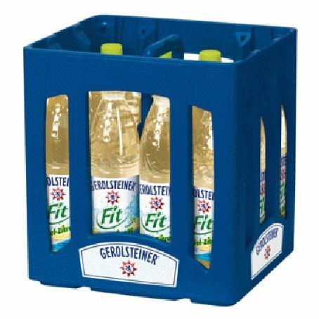 Gerolsteiner Fit Apfel-Zitrone (12/0,75 Ltr. PET MEHRWEG)
