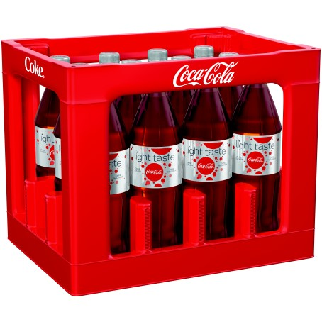 Coca Cola LIGHT (12/1,0 Ltr. PET MEHRWEG)