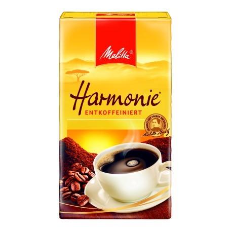 Melitta Cafee Harmonie Entcoffeiniert (12/500 g.)