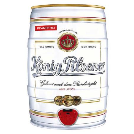 König Pilsener Partydose 2/5 Ltr. EINWEG