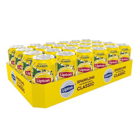 Lipton Ice Tea Sparkling Classic (24/0,33 Ltr. Dosen)