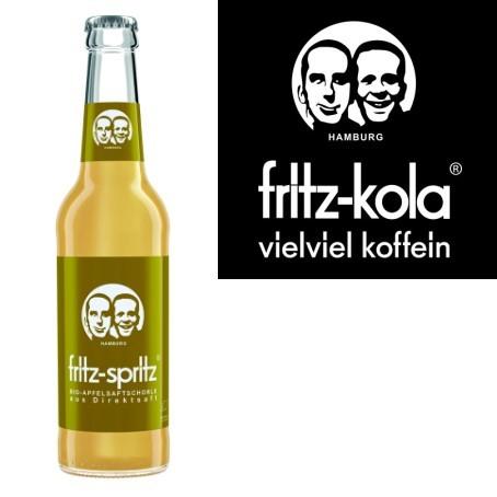 fritz -spritz Apfelsaftschorle (24/0,33 Ltr. Glas MEHRWEG)