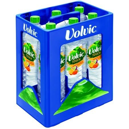 Volvic Touch Tropische Früchte (6/1,5 Ltr. PETc EINWEG)