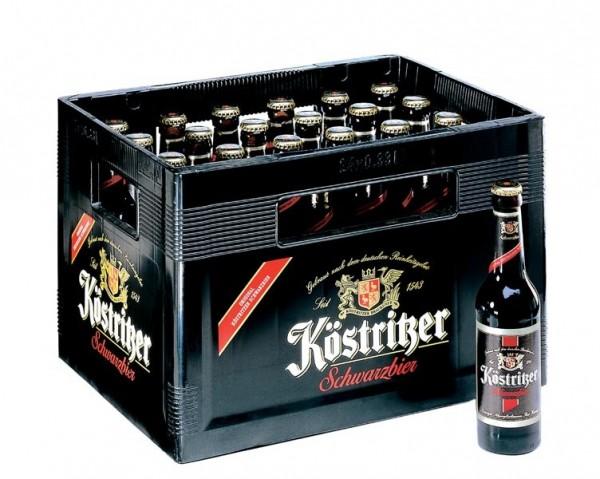 Köstritzer Schwarzbier (24/0,33 Ltr. Glas MEHRWEG)