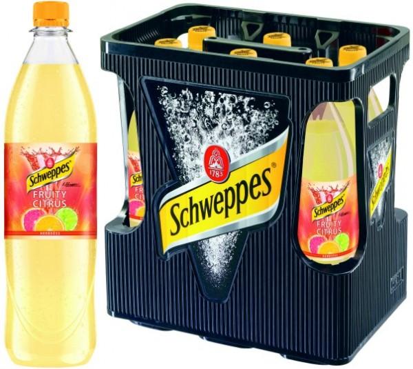 Schweppes Fruity Citrus (6/1 Ltr. PET MEHRWEG)