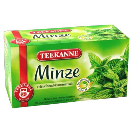 Teekanne Kräutertee Minze