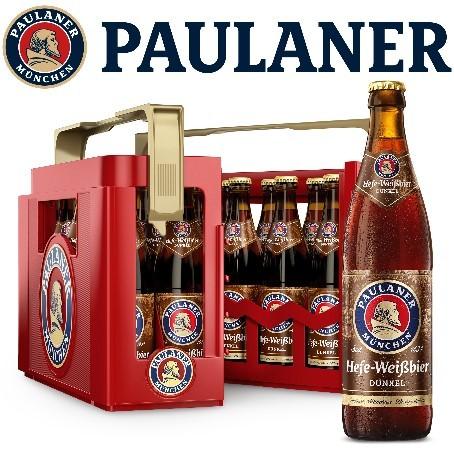 Paulaner Weizen Dunkel (20/0,5 Ltr. Glas MEHRWEG)