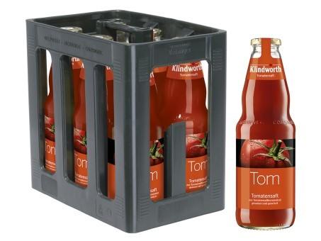 Klindworth Tomatensaft Direktsaft (6/1 Ltr. Glas MEHRWEG)