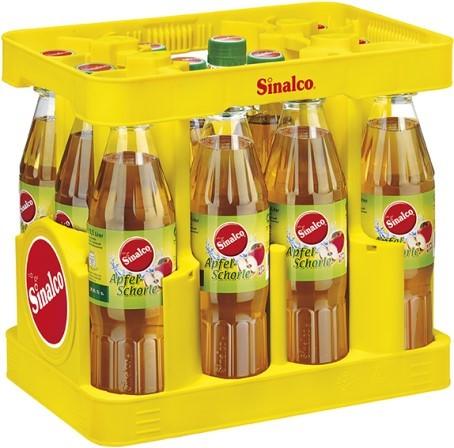 Sinalco Apfelschorle (12/0,5 Ltr. PET MEHRWEG)