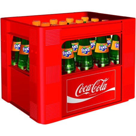 Fanta Orange (20/0,5 Ltr. Glas MEHRWEG)