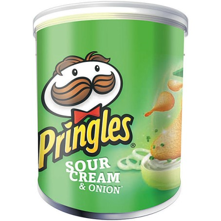 Pringles Sour Cream & Onion (12x40 g Ds.)