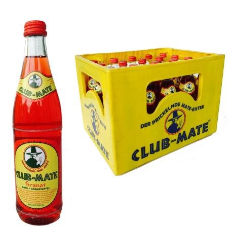 Club Mate Granat (20/0,5 Ltr. Glas MEHRWEG)