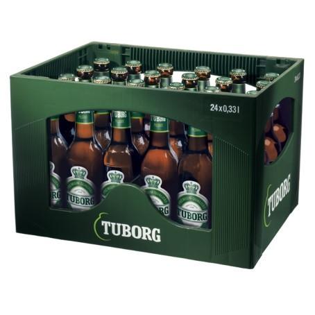 Tuborg Pils (24/0,33 Ltr. Glas MEHRWEG)