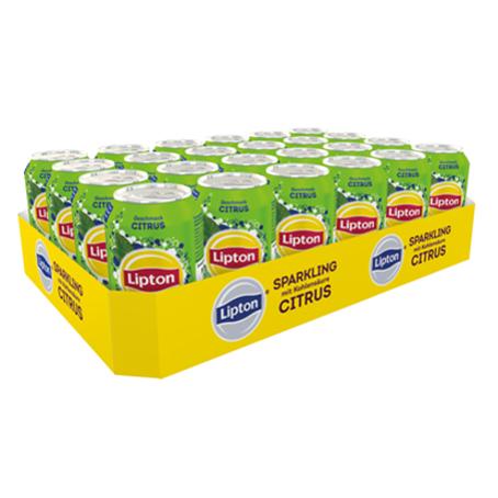 Lipton Ice Tea Sparkling Citrus (24/0,33 Ltr.Dosen)
