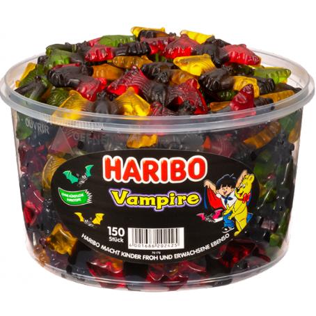 Haribo Vampire 150 Stück, (1,2 kg Dose)