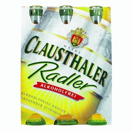 Clausthaler Radler (24/0,33 Ltr. Glas MEHRWEG)