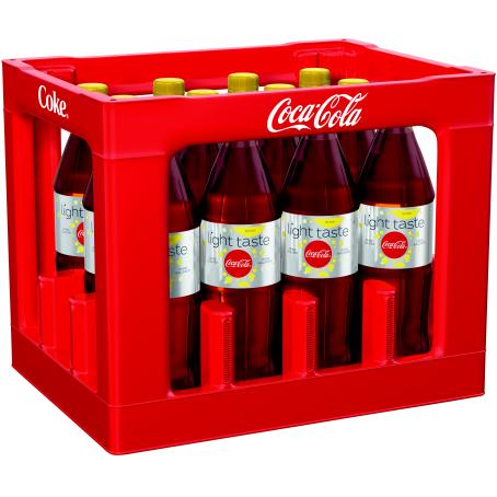 Coca Cola light Lemon +C (12/1,0 Ltr. PET MEHRWEG)