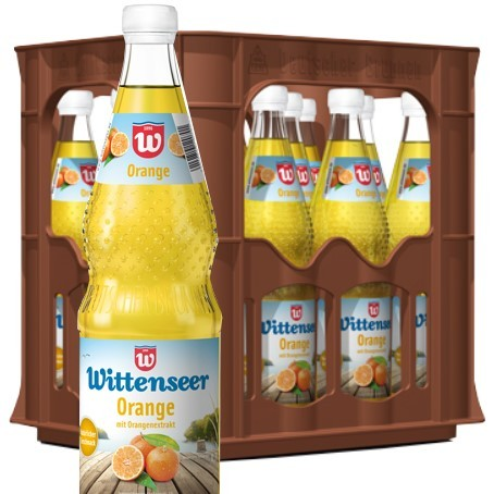 Wittenseer Limo Orange (12/0,7 Ltr. Glas MEHRWEG)