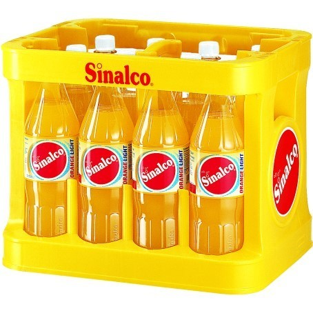 Sinalco Orange light (12/1 Ltr. PET MEHRWEG)
