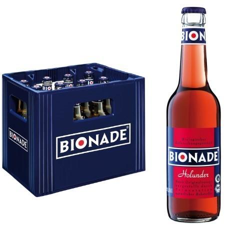 Bionade Holunder (12/0,33 Ltr. Glas MEHRWEG)