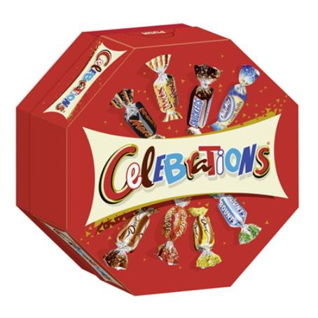 Celebrations Mix (186 g Schachtel)