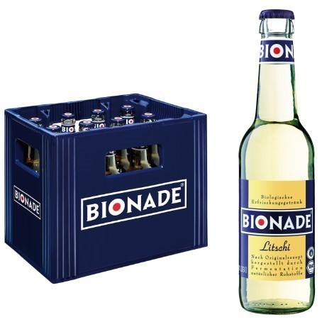 Bionade Litschi (12/0,33 Ltr. Glas MEHRWEG)