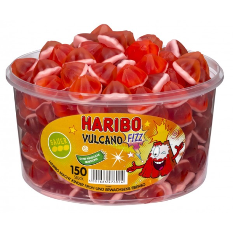 Haribo Vulcano 150 Stück, (1065 g.)