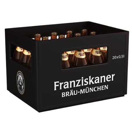 Franziskaner Kellerbier (20/0,5 Ltr. Glas MEHRWEG)