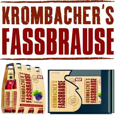Krombacher Fassbrause Hollunder (24/0,33 Ltr. Glas MEHRWEG)