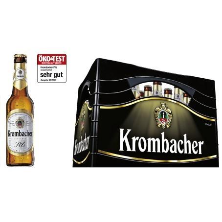 Krombacher Pils (20/0,5 Ltr. Glas MEHRWEG)