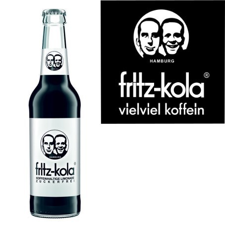 fritz -kola zuckerfrei (24/0,33 Ltr. Glas MEHRWEG)