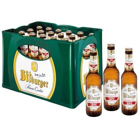 Bitburger alkoholfrei (24/0,33 Ltr. Glas MEHRWEG)