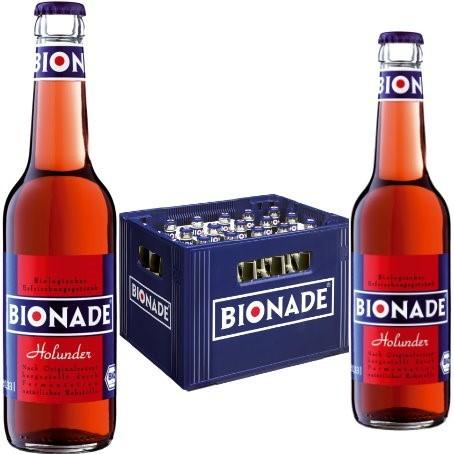 Bionade Holunder (24/0,33 Ltr. Glas MEHRWEG)