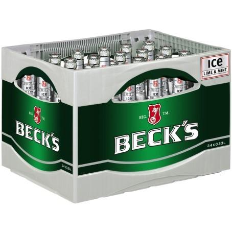 Becks Bier ICE (24/0,33 Ltr. Glas MEHRWEG)