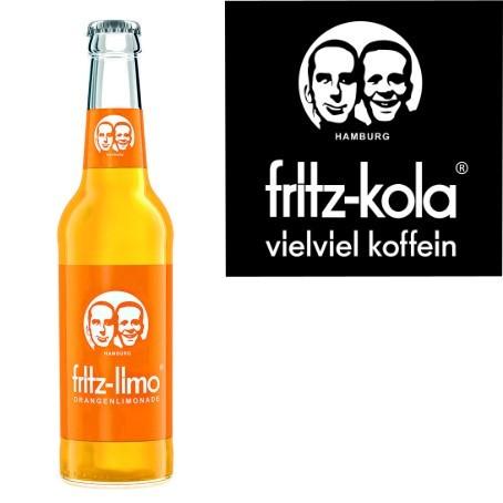 fritz -limo Orangenlimonade (24/0,33 Ltr. Glas MEHRWEG)