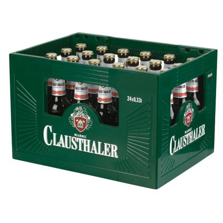 Clausthaler classic (24/0,33 Ltr. Glas MEHRWEG)