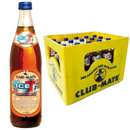 Club Mate Ice-T Kraftstoff (20/0,5 Ltr. Glas MEHRWEG)